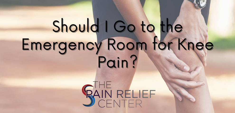Should I Go to the Emergency Room for Knee Pain